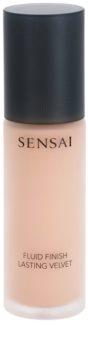 Sensai Fluid Finish Lasting Velvet make-up fluid pentru un aspect frumos si de lunga durata a pielii