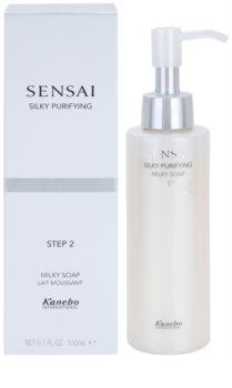 Sensai Silky Purifying Step Two hidratáló tisztító szappan száraz és nagyon száraz bőrre