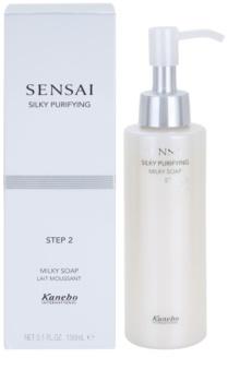 Sensai Silky Purifying Step Two hydratační čisticí mýdlo pro suchou až velmi suchou pleť