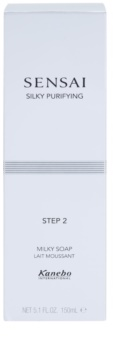 Sensai Silky Purifying Step Two jabón limpiador hidratante para pieles secas y muy secas