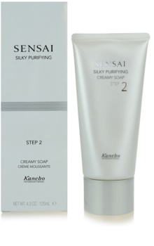 Sensai Silky Purifying Step Two krémes szappan normál és száraz bőrre