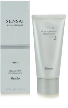 Sensai Silky Purifying Step Two krémové mydlo pre normálnu a suchú pleť