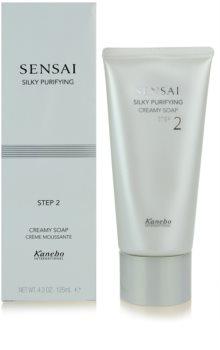 Sensai Silky Purifying Step Two krémové mýdlo pro normální a suchou pleť