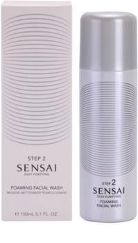 Sensai Silky Purifying Step Two espuma facial limpiadora  para pieles normales y grasas