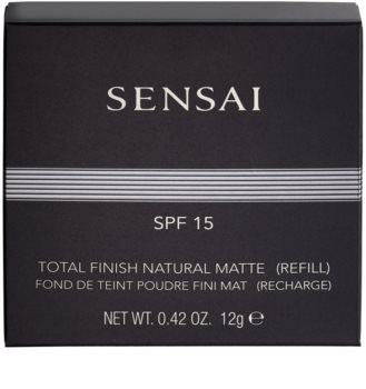 Sensai Total Finish polvos compactos recarga SPF15