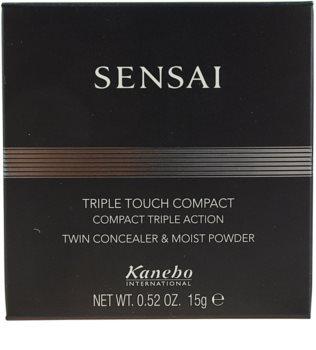 Sensai Triple Touch Compact pudra compacta si corector 3 in 1