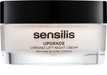Sensilis Upgrade Chrono Lift Lifting-Nachtcreme zur Definition der Gesichtskonturen