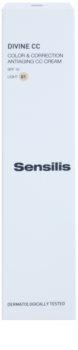 Sensilis Divine CC CC krema proti gubam SPF 15