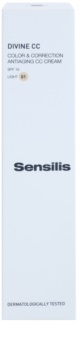 Sensilis Divine CC protivráskový CC krém SPF 15