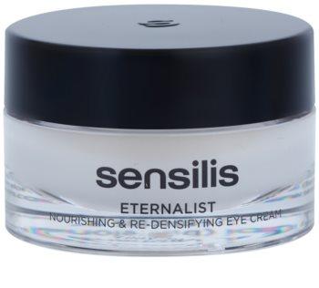 Sensilis Eternalist výživný krém pre obnovu hustoty pleti v oblasti očného okolia