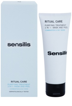 Sensilis Ritual Care čisticí maska a peeling 2 v 1