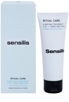 Sensilis Ritual Care čisticí maska a peeling 2v1
