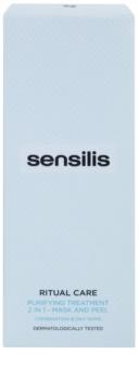 Sensilis Ritual Care čistiaca maska a peeling 2 v 1
