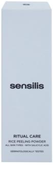 Sensilis Ritual Care rizs peeling púder