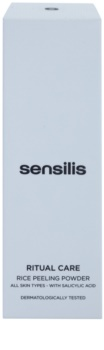 Sensilis Ritual Care ryžový peelingový púder
