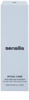 Sensilis Ritual Care rýžový peelingový pudr
