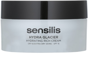 Sensilis Hydra Glacier hydratačný a vyživujúci krém SPF 15