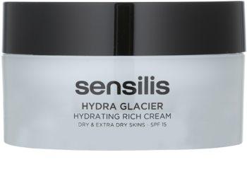 Sensilis Hydra Glacier vlažilna in hranilna krema SPF 15