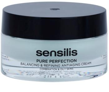 Sensilis Pure Perfection normalizační krém pro mastnou pleť s protivráskovým účinkem