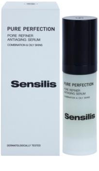 Sensilis Pure Perfection Antifalten Serum strafft die Haut und verfeinert Poren