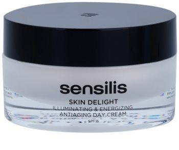 Sensilis Skin Delight crema antiarrugas para dar luminosidad y vitalidad a la piel SPF15