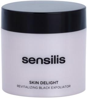 Sensilis Skin Delight rozjasňujúci peeling s aktívnym uhlím pre rozjasnenie pleti