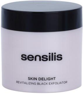 Sensilis Skin Delight scrub rivitalizzante al carbone attivo
