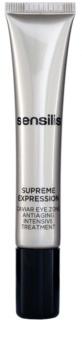 Sensilis Supreme Expression pielęgnacja przeciwzmarszczkowa przeciw obrzękom i cieniom