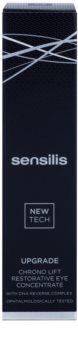 Sensilis Upgrade Chrono Lift očná starostlivosť proti vráskam, opuchom a tmavým kruhom
