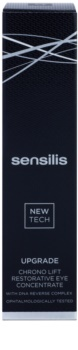 Sensilis Upgrade Chrono Lift tratamiento antiarrugas, antiojeras y antibolsas para contorno de ojos