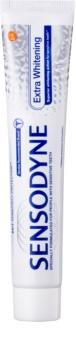 Sensodyne Extra Whitening dentífrico branqueador com fluoreto para dentes sensíveis