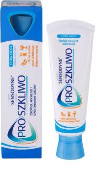 Sensodyne Pro-Namel pasta para fortalecer el esmalte dental para aliento fresco