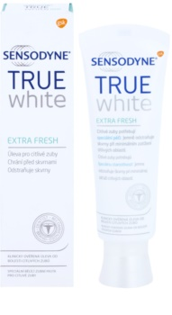 Sensodyne True White Extra Fresh pasta wybielająca przeciw przebarwieniom na szkliwie dla wrażliwych zębów