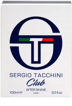 Sergio Tacchini Club Aftershave lotion  voor Mannen 100 ml