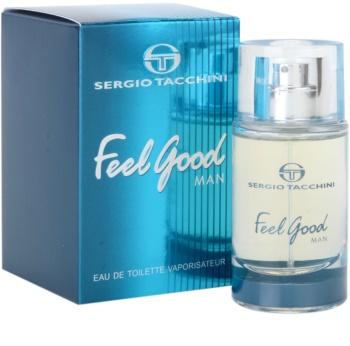 Sergio Tacchini Feel Good Man toaletná voda pre mužov 30 ml