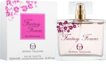 Sergio Tacchini Fantasy Forever Eau de Romantique eau de toilette per donna 100 ml