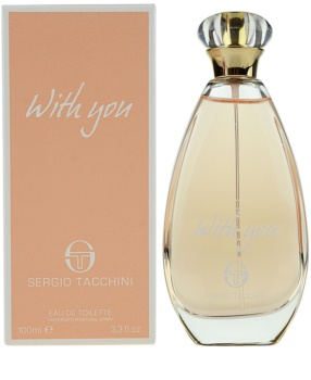 Sergio Tacchini With You eau de toilette pour femme 100 ml