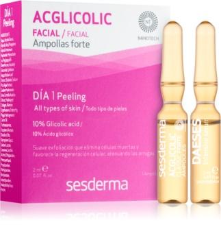 Sesderma Daeses & Acglicolic coffret cosmétique I. pour femme