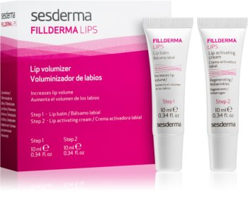Sesderma Fillderma Lips soin bi-phasé pour des lèvres pulpeuses