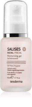 Sesderma Salises Feuchtigkeitsgel für fettige Haut mit Neigung zu Akne