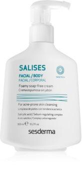 Sesderma Salises gel de limpeza para rosto e corpo