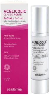 Sesderma Acglicolic Classic Forte Facial gelový krém pro komplexní protivráskovou ochranu