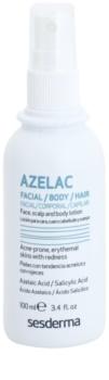 Sesderma Azelac beruhigendes Tonikum zur Behandlung von fettiger Haut mit Akne