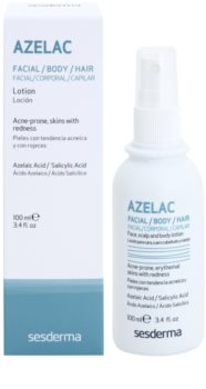 Sesderma Azelac Calming Toner for Oily Skin Prone to Acne