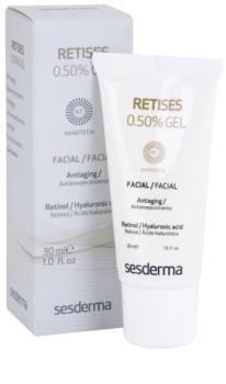 Sesderma Retises intenzivně obnovující gelový krém s retinolem a kyselinou hyaluronovou