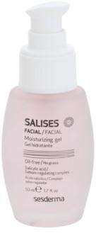 Sesderma Salises gel hydratant pour peaux grasses sujettes à l'acné