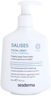 Sesderma Salises Antibacterial Cleansing Gel For Face And Body