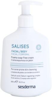 Sesderma Salises gel de curatare antibacterial pentru fata si corp