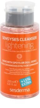Sesderma Sensyses Cleanser Lightening odličovač make-upu pro pleť s hyperpigmentací