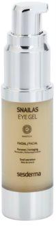 Sesderma Snailas gel de contorno de olhos com extrato de caracol